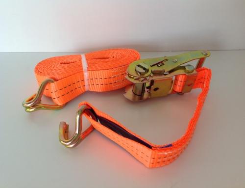 Spanband oranje klein