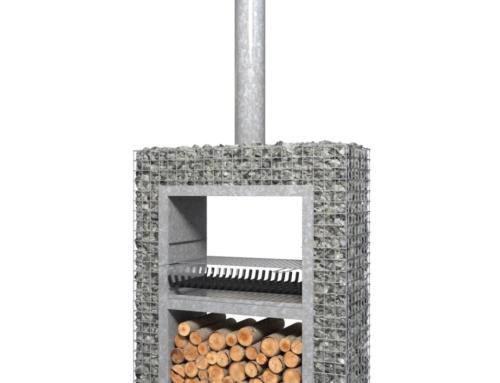 Barbecook Buiten kachel/BBQ Ferro 1250