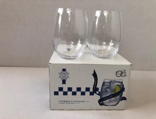 Waterglas set van 4