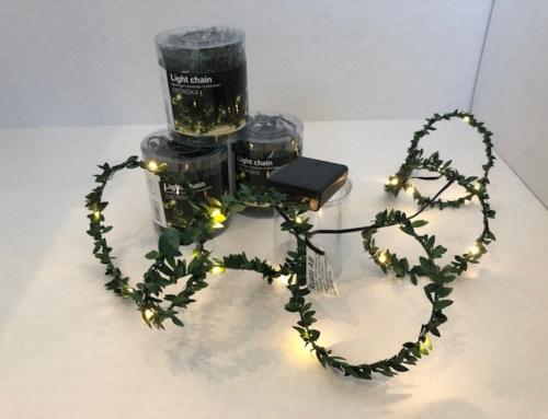 Decoratie Lichtslinger LED Gronska