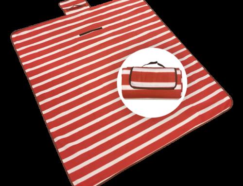 Picknickdeken Rood/Wit 130×150 cm 190100003