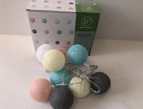 Verlichting Led Cotton Balls Royal Patio
