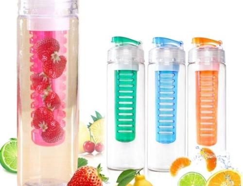 Benson Waterfles met Fruit Filter 3 kleuren