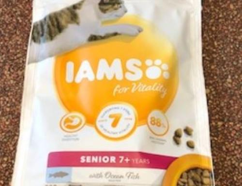 IAMS Kattenvoer Brok Senior 7+ Years Vis 200 Gram THT 14-03-20