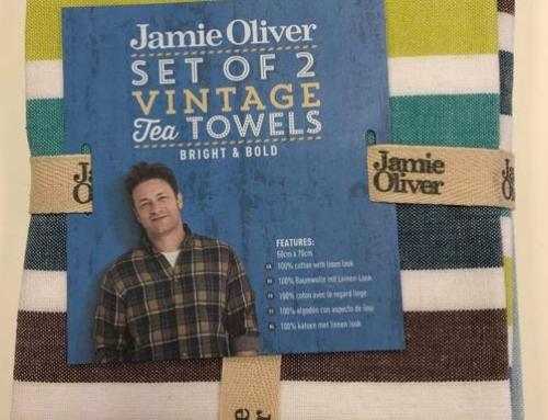 Jamie Oliver Theedoek Gestreept set van 2