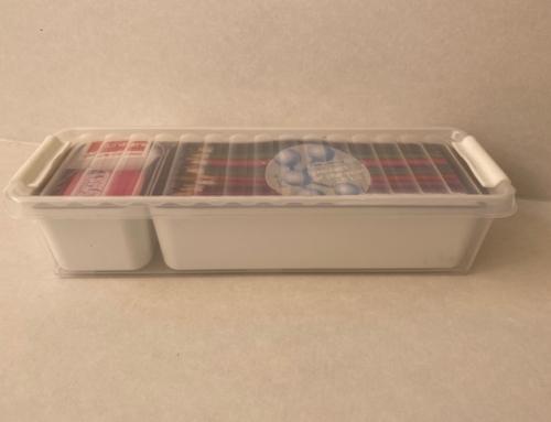 Sunware Q-Line Mixed Box 0,9 L + 2 Baskets (1x 0,15L + 1x 0,65L ) Transparant Wit  81810604