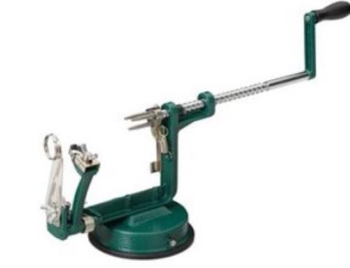 Sold!!! Appelschilmachine metaal Relaxdays