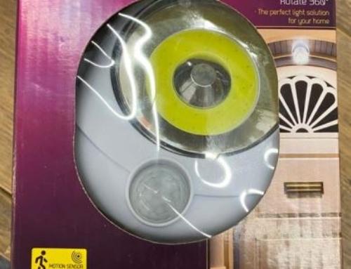Baltimore Sensor Lamp