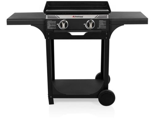 FireFriend Gas Baking Plate BBQ op Wieltjes  BQ-6348F