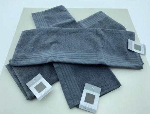Keuken handdoek 50×50 cm Uni Donker Grijs 1217928