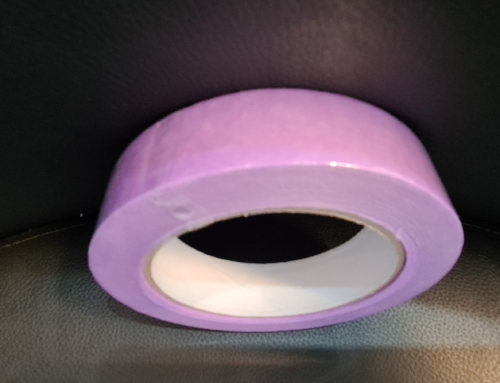 Afplaktape 25mmx50mtr Purple