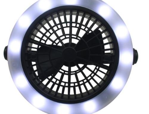 Ventilator met led verlichting